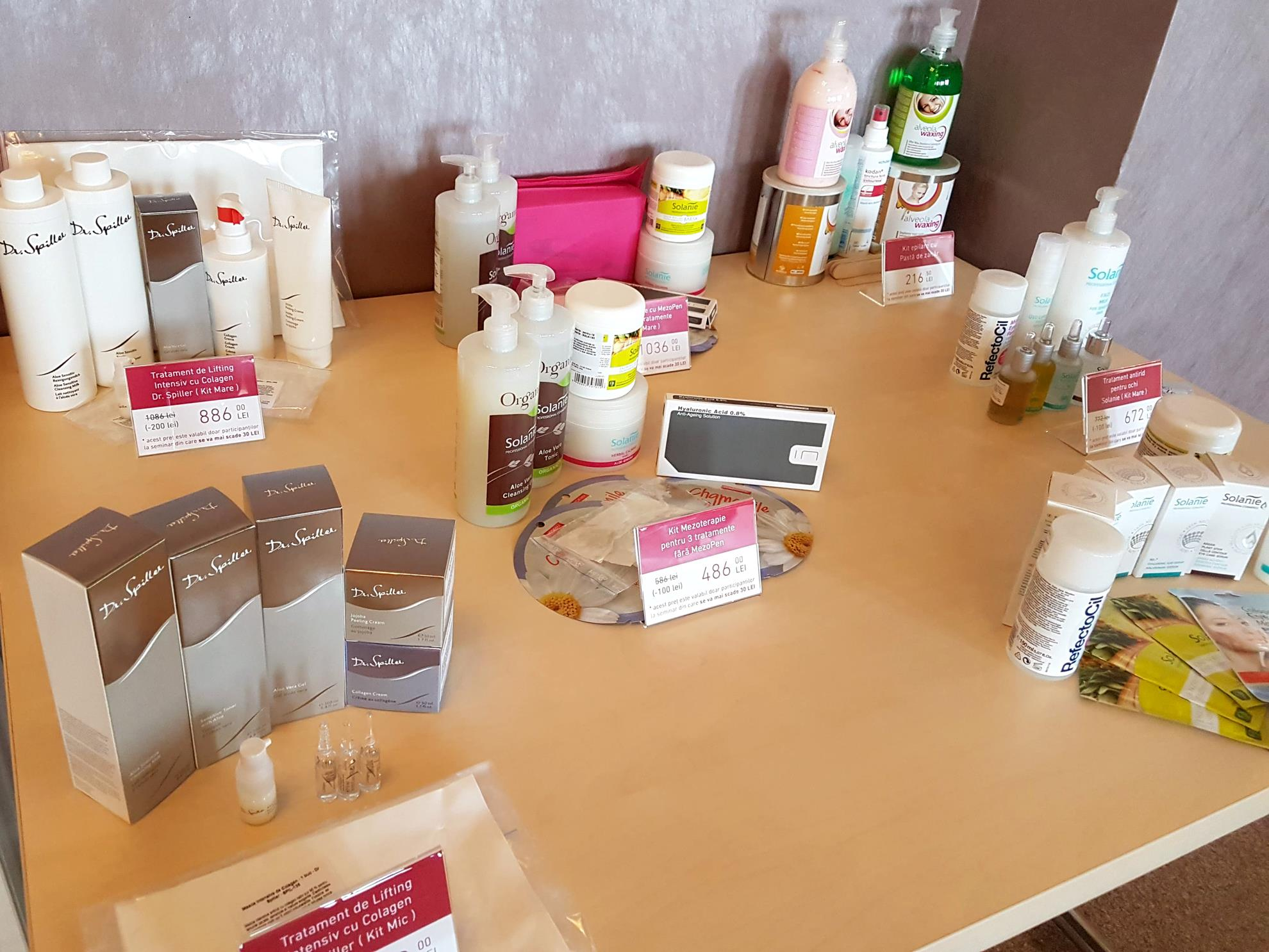 Semianr de Perfectionare pentru Cosmeticieni